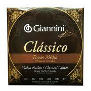 Encordoamento Violao Nylon Giannini Classico Genwpm Media