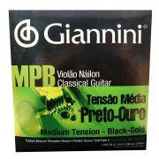 Encordoamento para Violao Nylon Giannini Mpb Genwbg