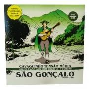 Encordoamento Sao Goncalo Cavaco Niquel Com Bolinha