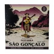 Encordoamento Guitarra Sao Gonçalo Niquel 0.09