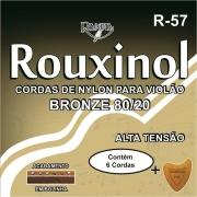 Encordoamento Violão Nylon Rouxinol R57