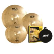 Kit De Prato Zeus B10 Evolution Set C 14 16 20 Com Bag