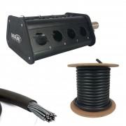Kit Medusa 12 Vias Completo + Multicabo 10m Datalink