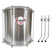 Surdo Contemporanea Light 159lt 18 Aluminio c/ Tripe