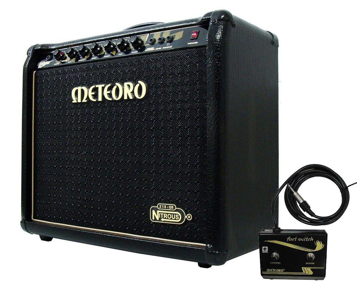Amplificador Guitarra Meteoro Nitrous Gs100 Elg