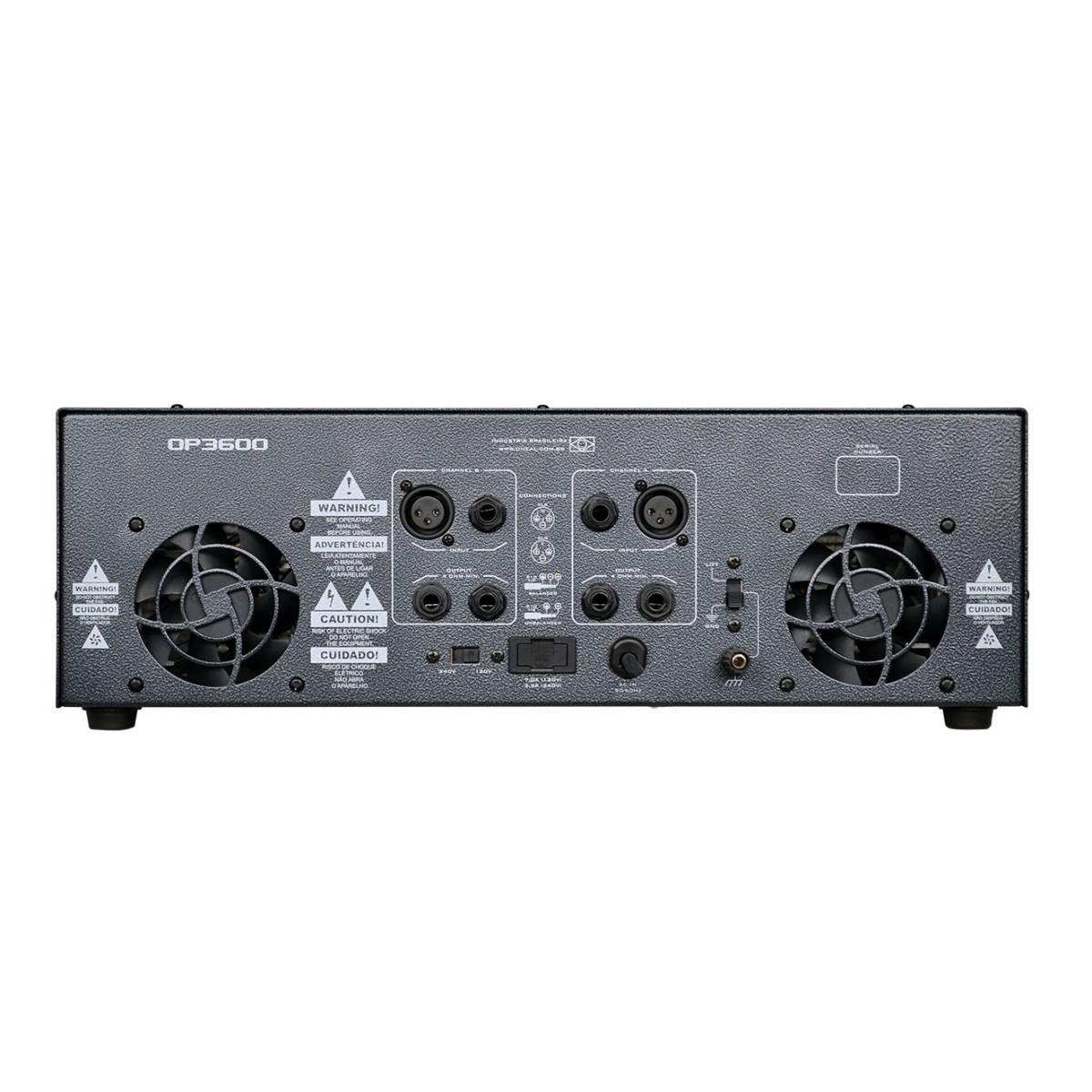 Amplificador De Potencia Oneal Op3600 700w Rms