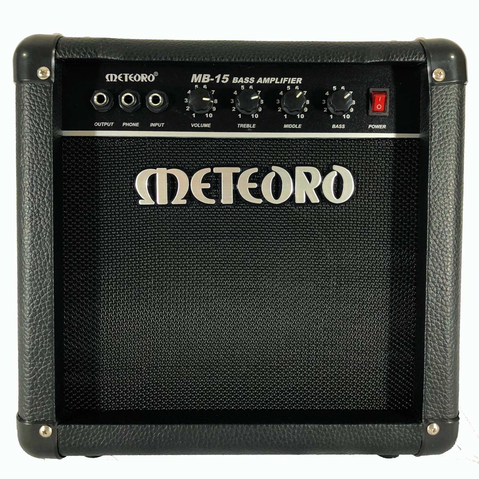 Amplificador Para Contra Baixo Meteoro Mb15 15W