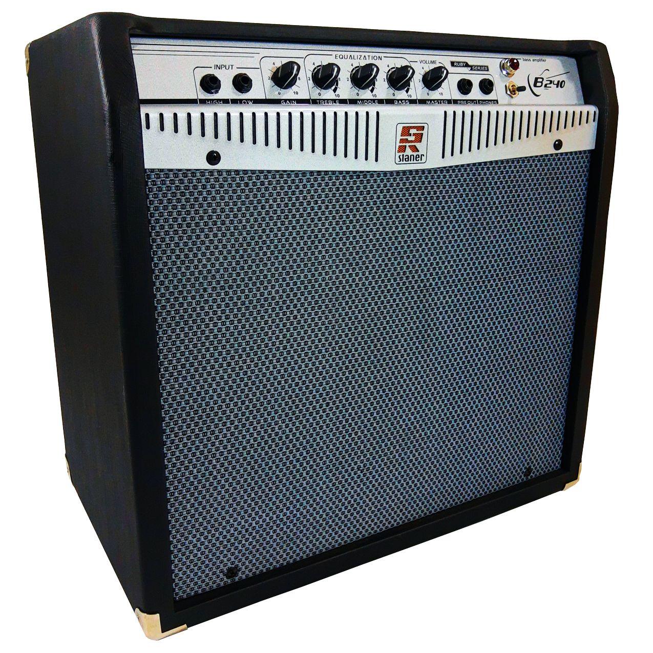 Amplificador Para Contra Baixo Staner B240 140w Rms