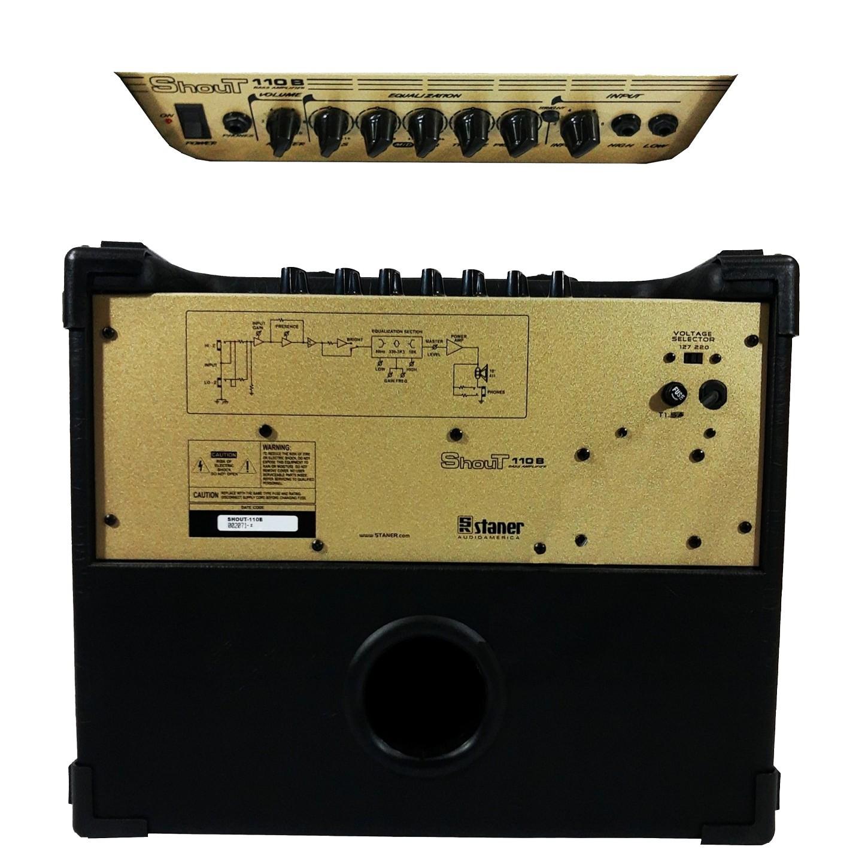 Amplificador Para Contra Baixo Staner Shout 110b 100w Rms