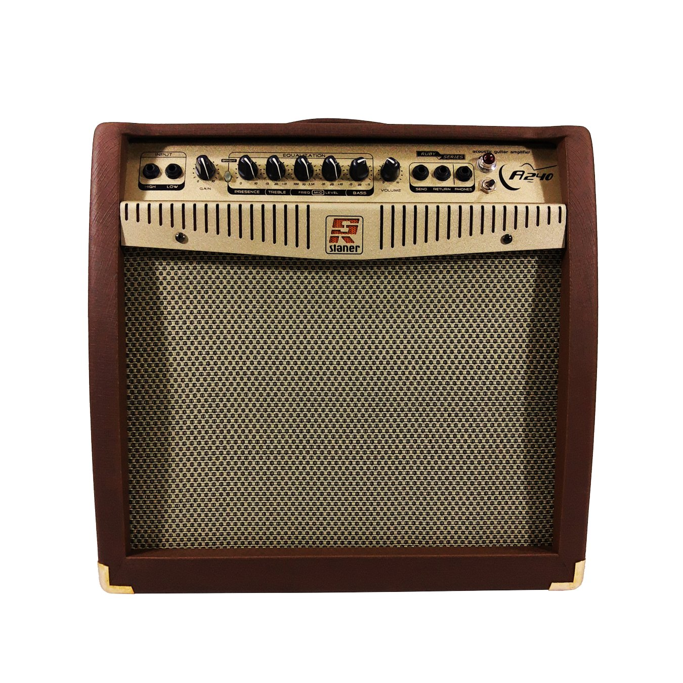 Amplificador Para Violão Staner A240 Acustico 100w Rms