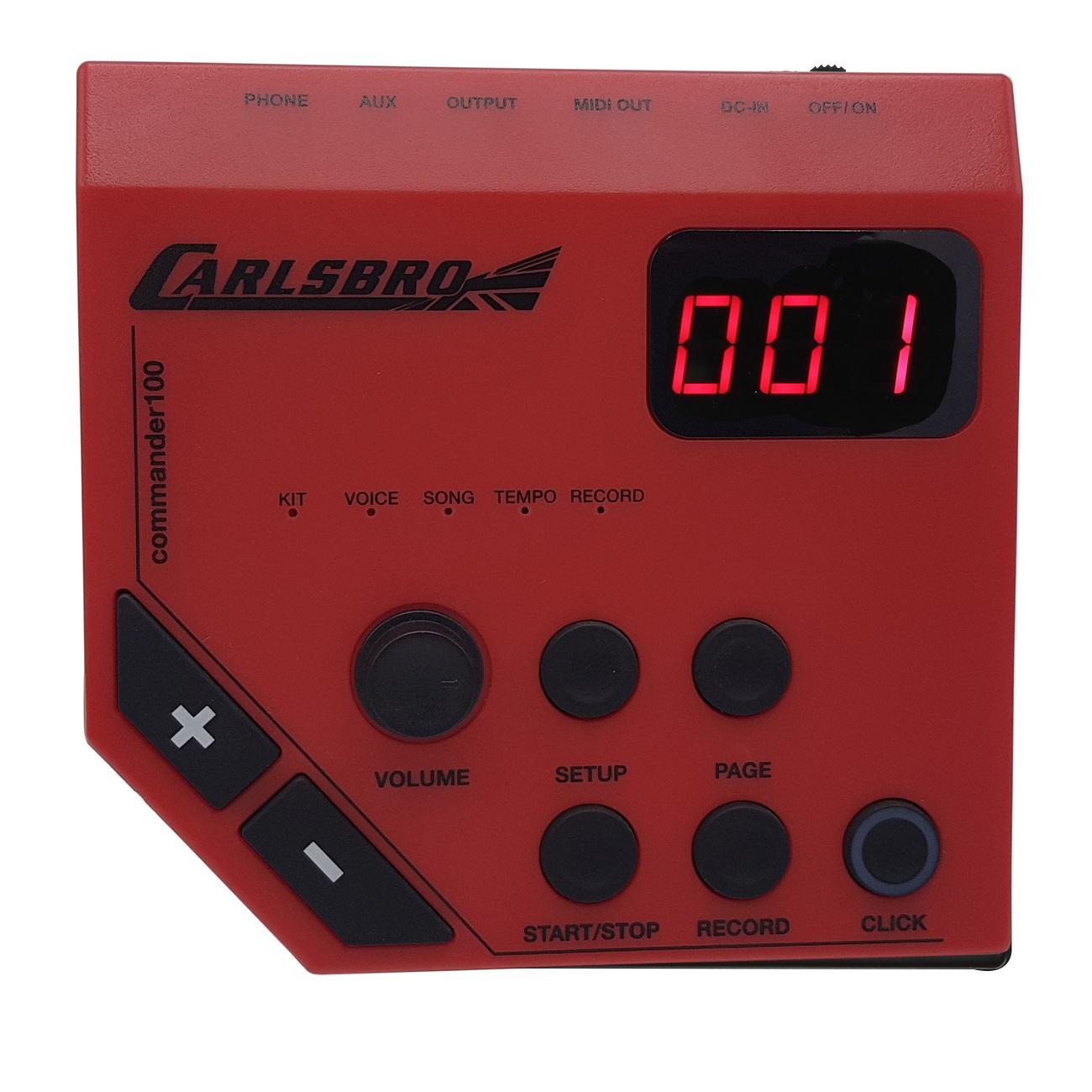 Bateria Eletronica Odery Carlsbro Csd100 Black