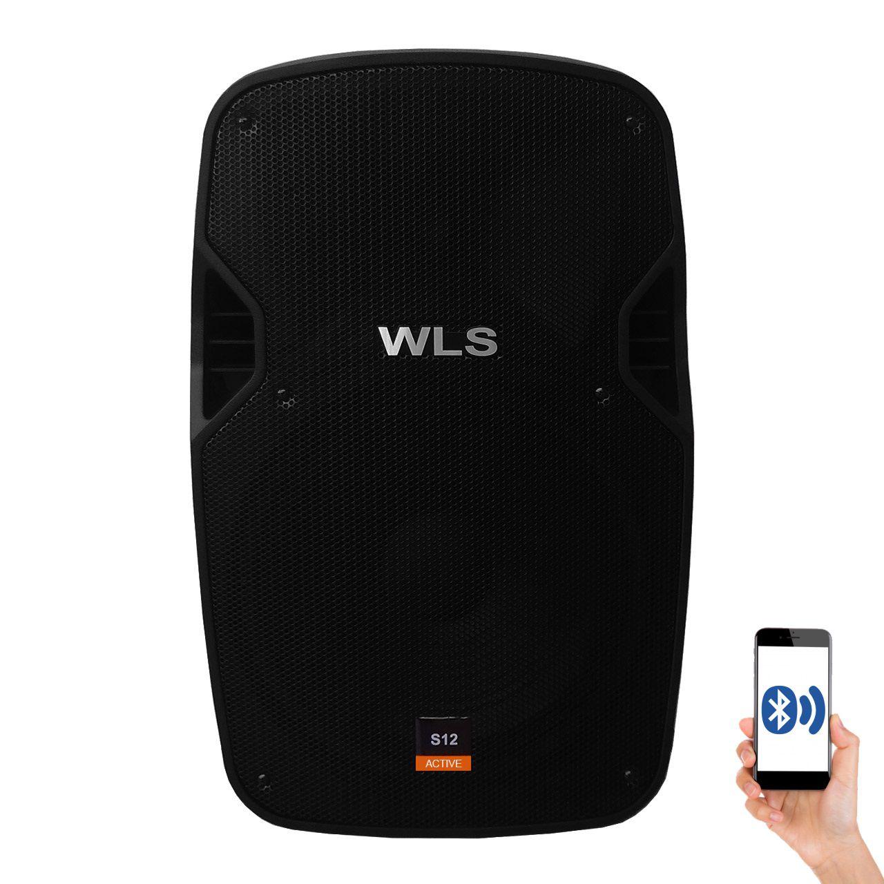 Caixa De Som Ativa Wls S12 Bluetooth 250W Rms