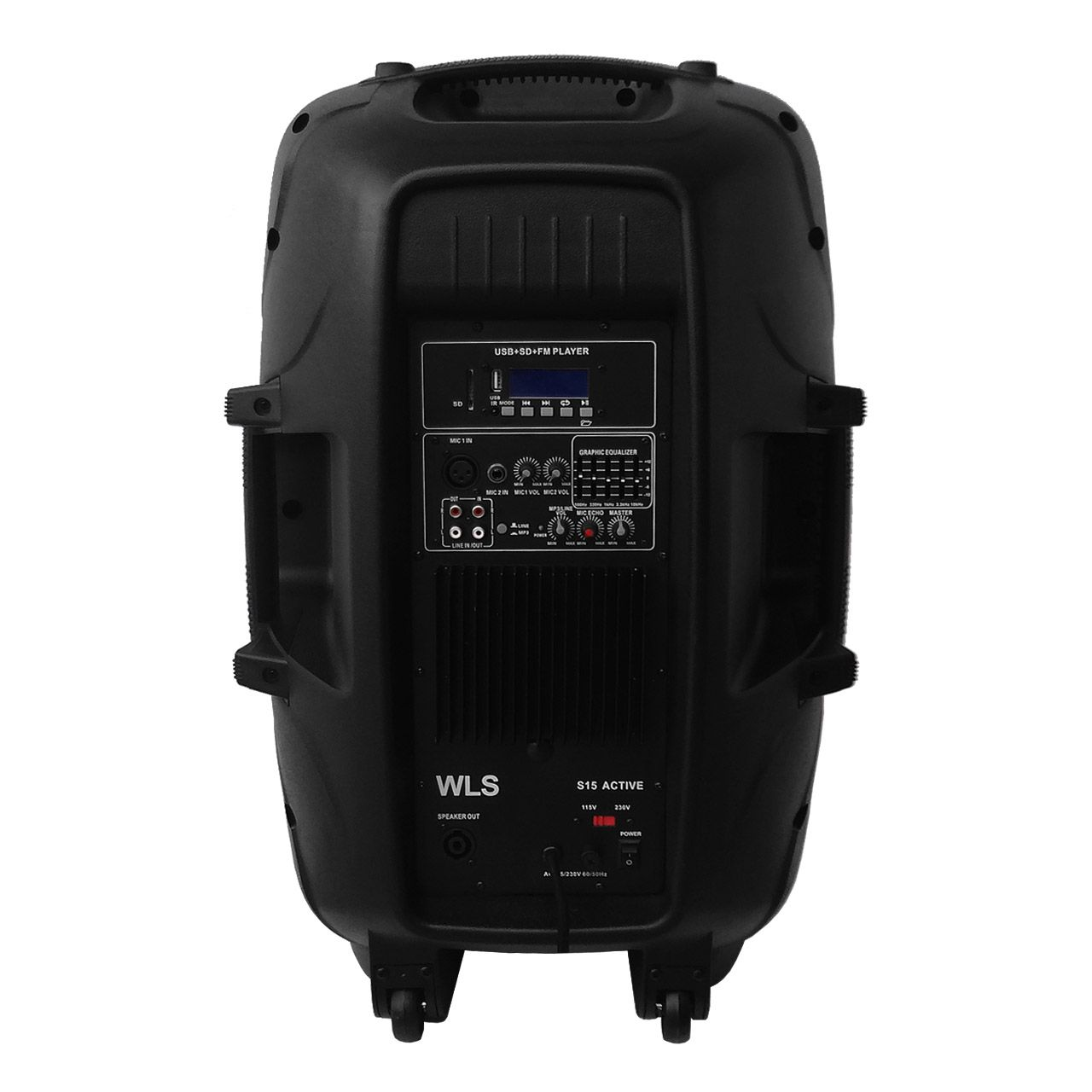 Caixa De Som Ativa Wls S15 Bluetooth 250W Rms