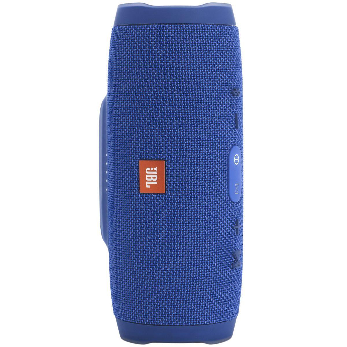 Caixa De Som Jbl Charge 3 Blue Portátil Bluetooth