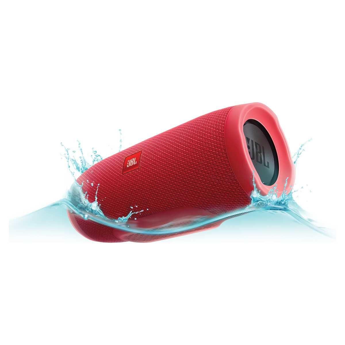 Caixa De Som Jbl Charge 3 Red Portátil Bluetooth