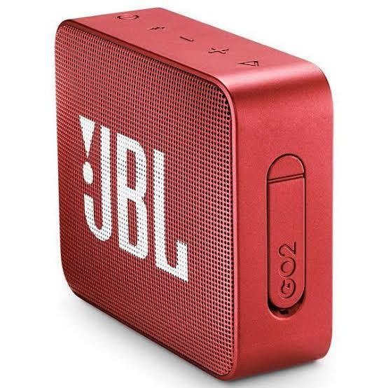 Caixa De Som Jbl Go2 Portátil Bluetooth Red