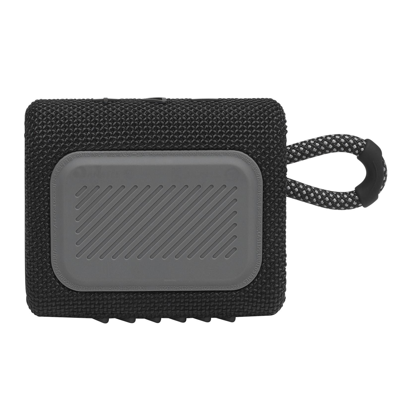 Caixa De Som Jbl Go3 Portátil Bluetooth Blk