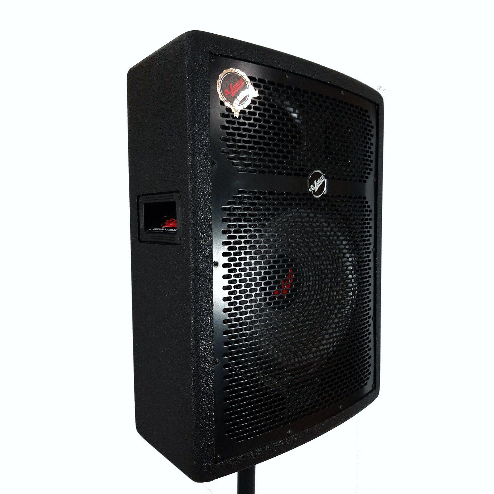 Caixa De Som Passiva Leacs Fit550 150W Falante 15