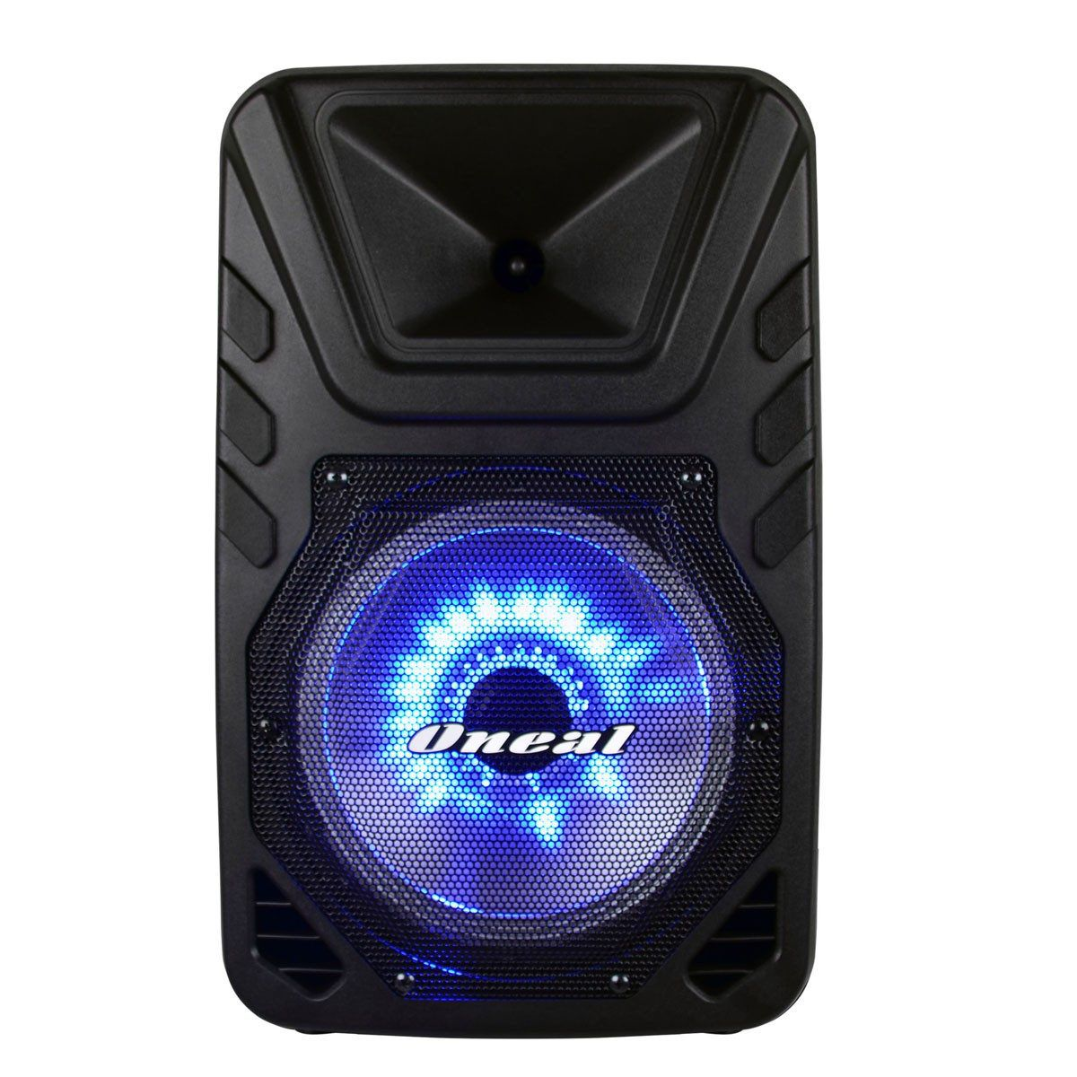 Caixa De Som Ativa Com Bateria Oneal Omf405 + Microfone