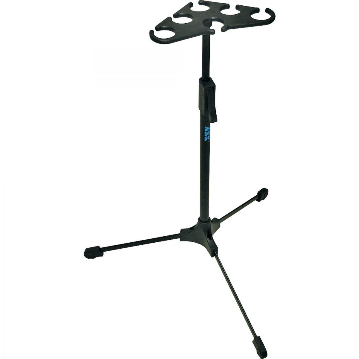 Suporte Para 06 Microfones Ask M6 Descanso