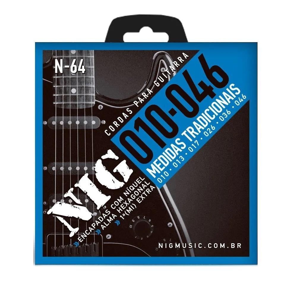 Encordoamento Guitarra Nig N-64 0.10