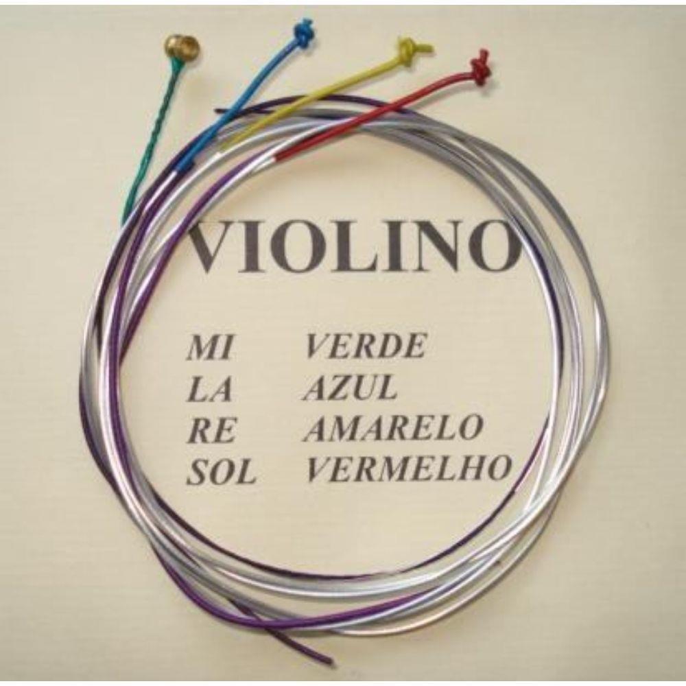 Encordoamento Violino Mauro Calixto 4/4
