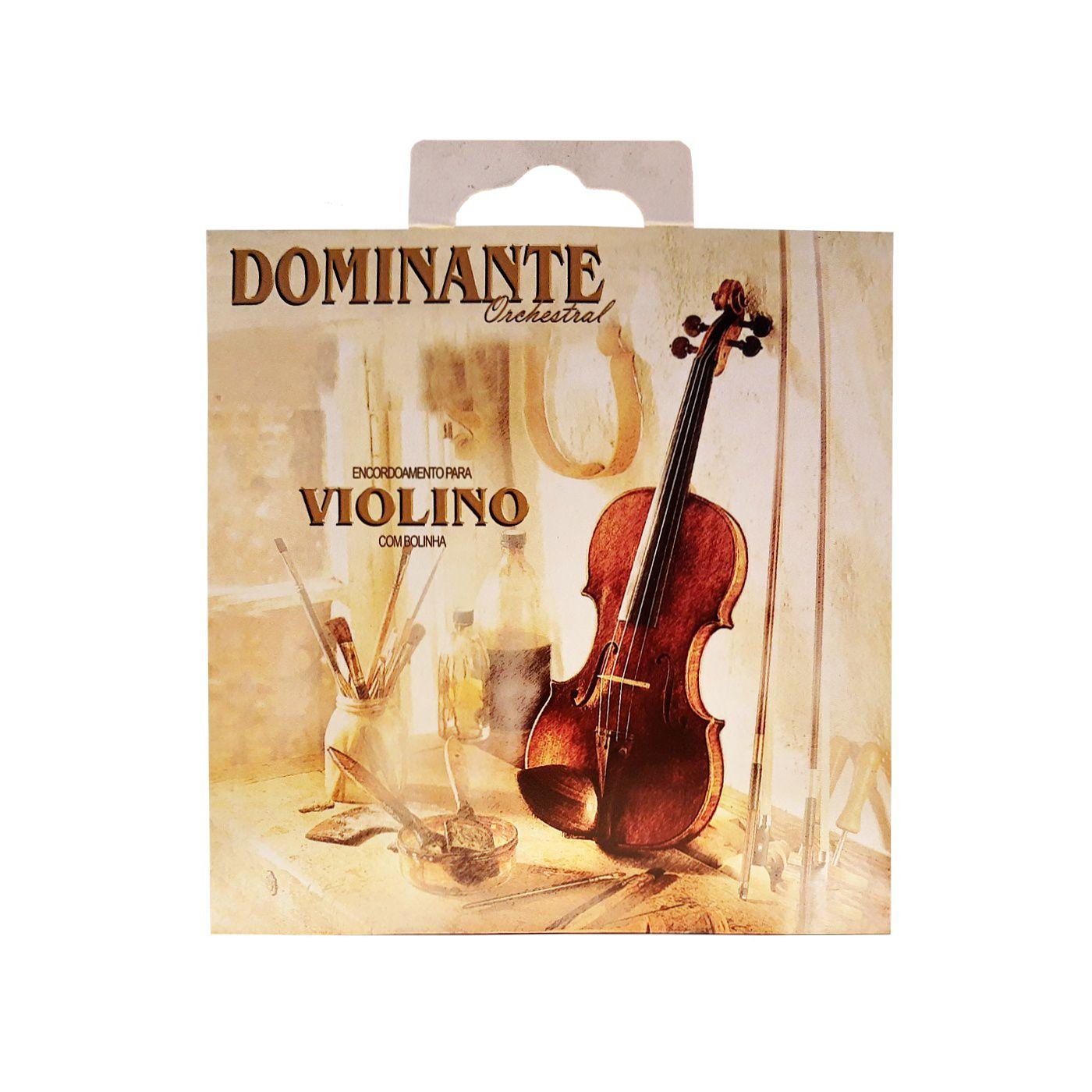 Encordoamento Violino Dominante IZ0089