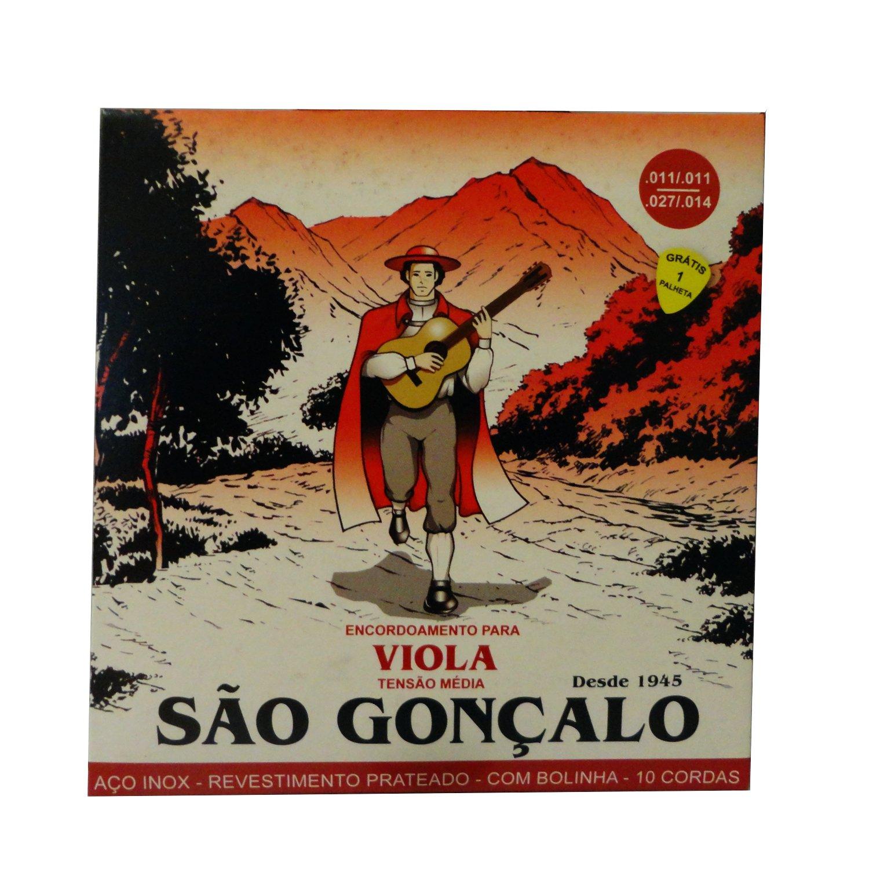 Encordoamento Sao Goncalo Viola Caipira