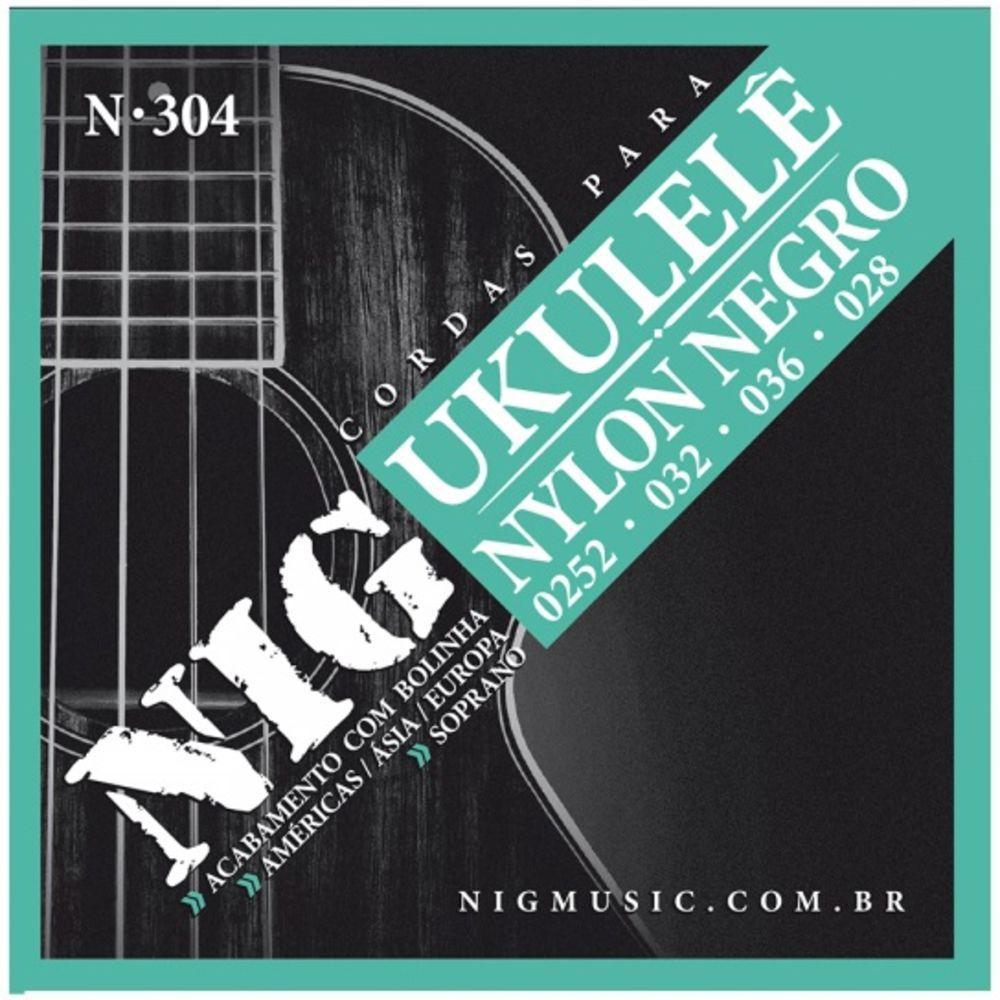 Encordoamento Ukulele Nig Bk N-304