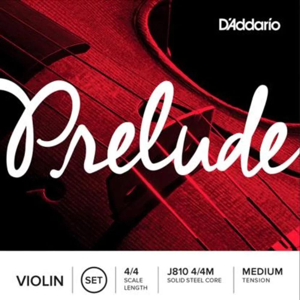 Encordoamento Violino Daddario Prelude J810