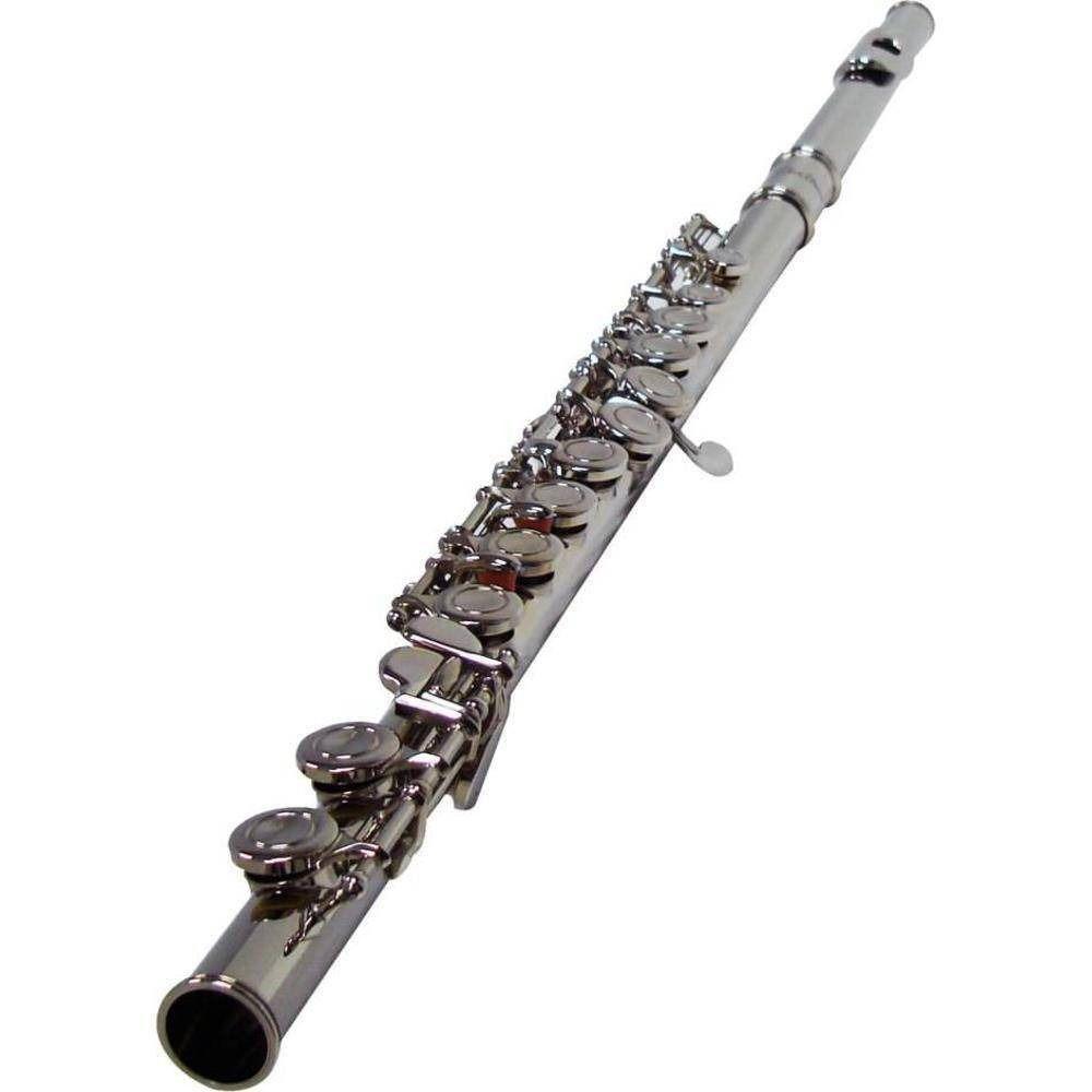 Flauta Transversal Shelter Tjs6456N Em Do Niquelada