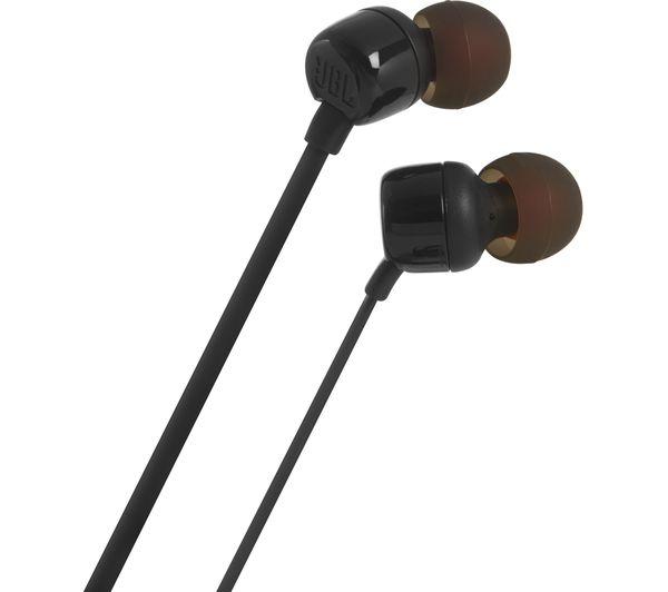 Fone De Ouvido Jbl Tune T110 Blk In Ear