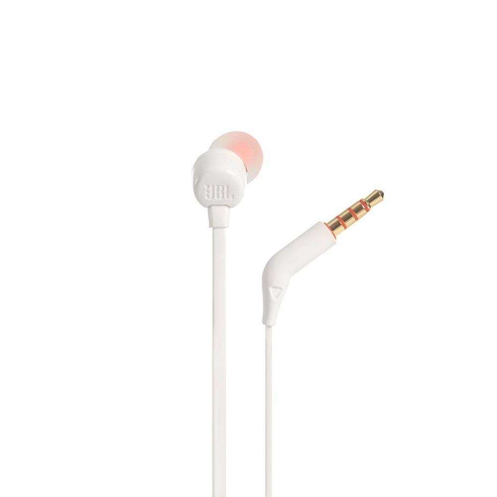 Fone De Ouvido Jbl Tune T110 Wht In Ear