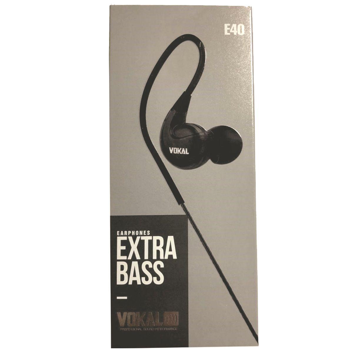 Fone De Retorno Monitor In Ear Profissional Vokal E40