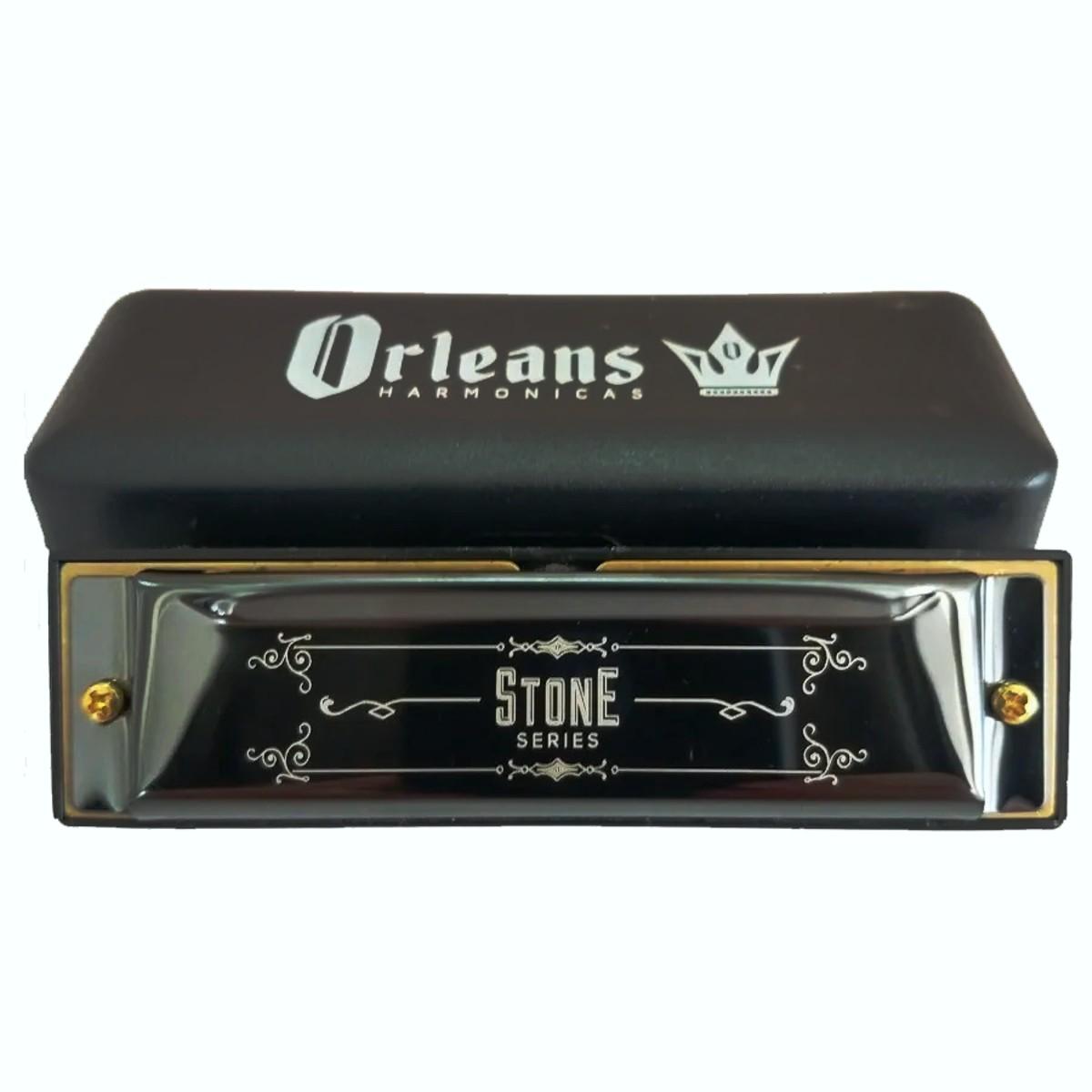 Gaita Diatônica Orleans Stone Series