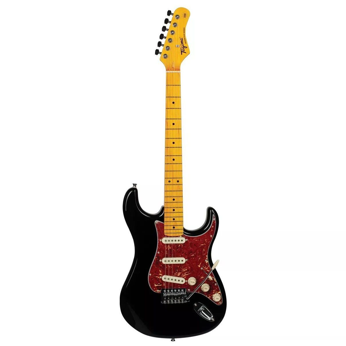 Guitarra Tagima Stratocaster Woodstock Tg530 Bk Preto