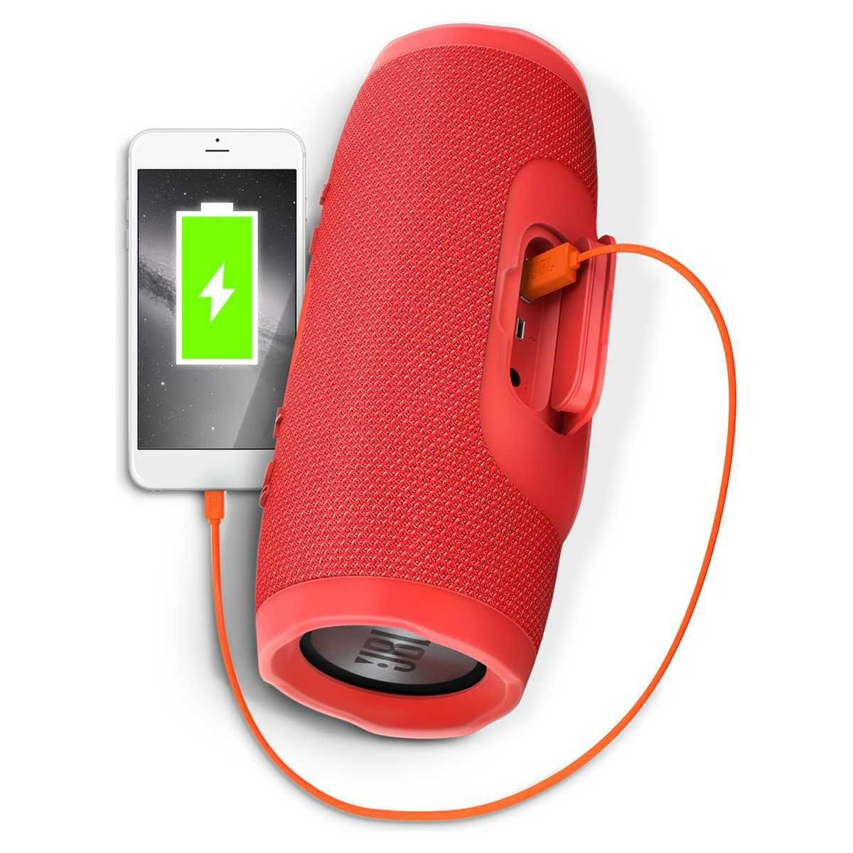 Kit 2 Caixa De Som Jbl Charge 3 Bluetooth Original Sincroniza