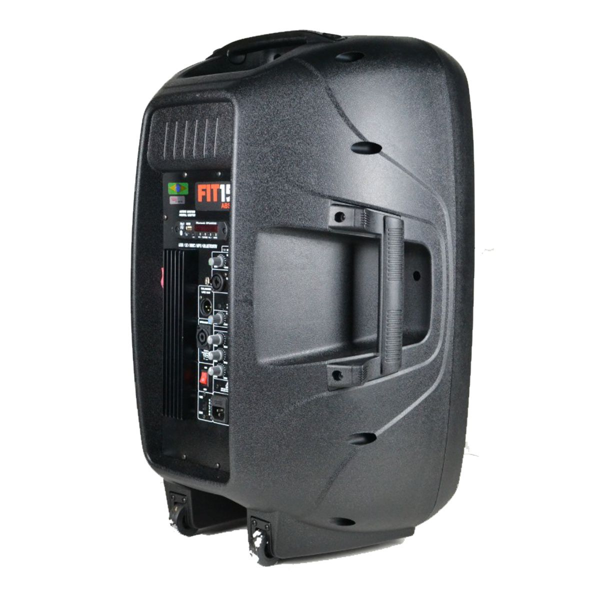 Kit Caixa De Som Ativa Passiva Leacs 450w Rms Falante 15 + Tripé