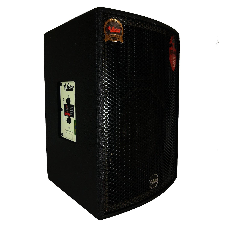 Kit Caixa de Som Ativa Usb + Passiva 10 Leacs Brava 1000 250w Rms