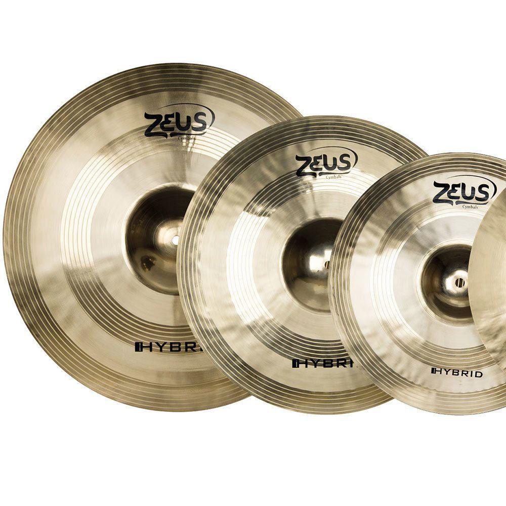 Kit De Prato Zeus B20 Hybrid Set E 10 14 16 18 20 Com Bag