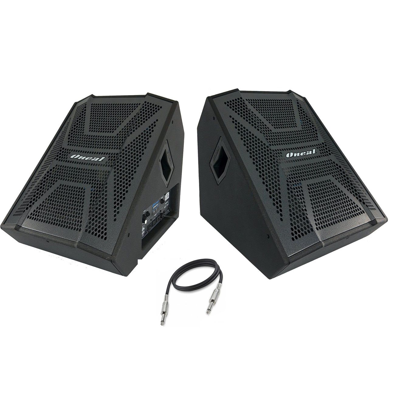 Kit Monitor Palco Ativo Passivo Oneal Opm1312x Obm1312x 200w Rms