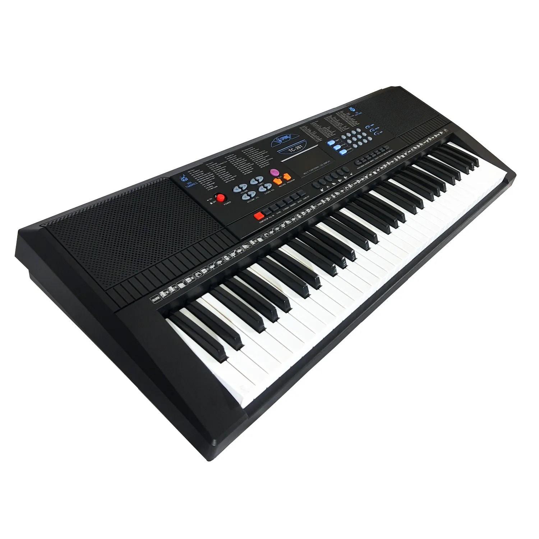 Kit Teclado Musical 5/8 Spring Tc261 + Suporte Capa