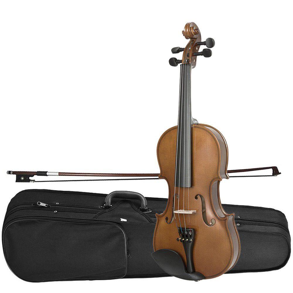 Kit Violino Dominante 4/4 Especial Afinador + Estante