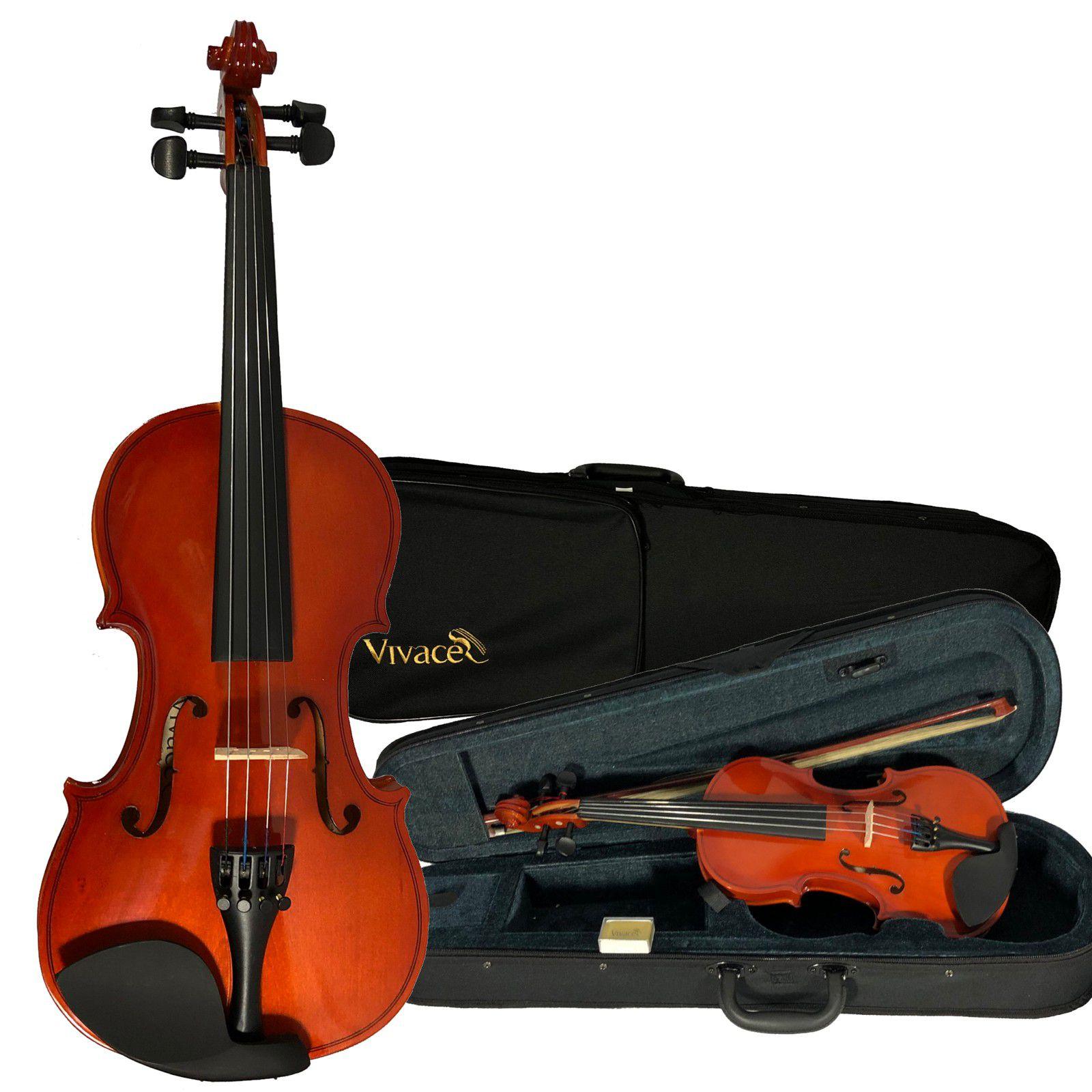 Kit Violino Vivace Mozart 4/4 + Estojo Pedestal Espaleira