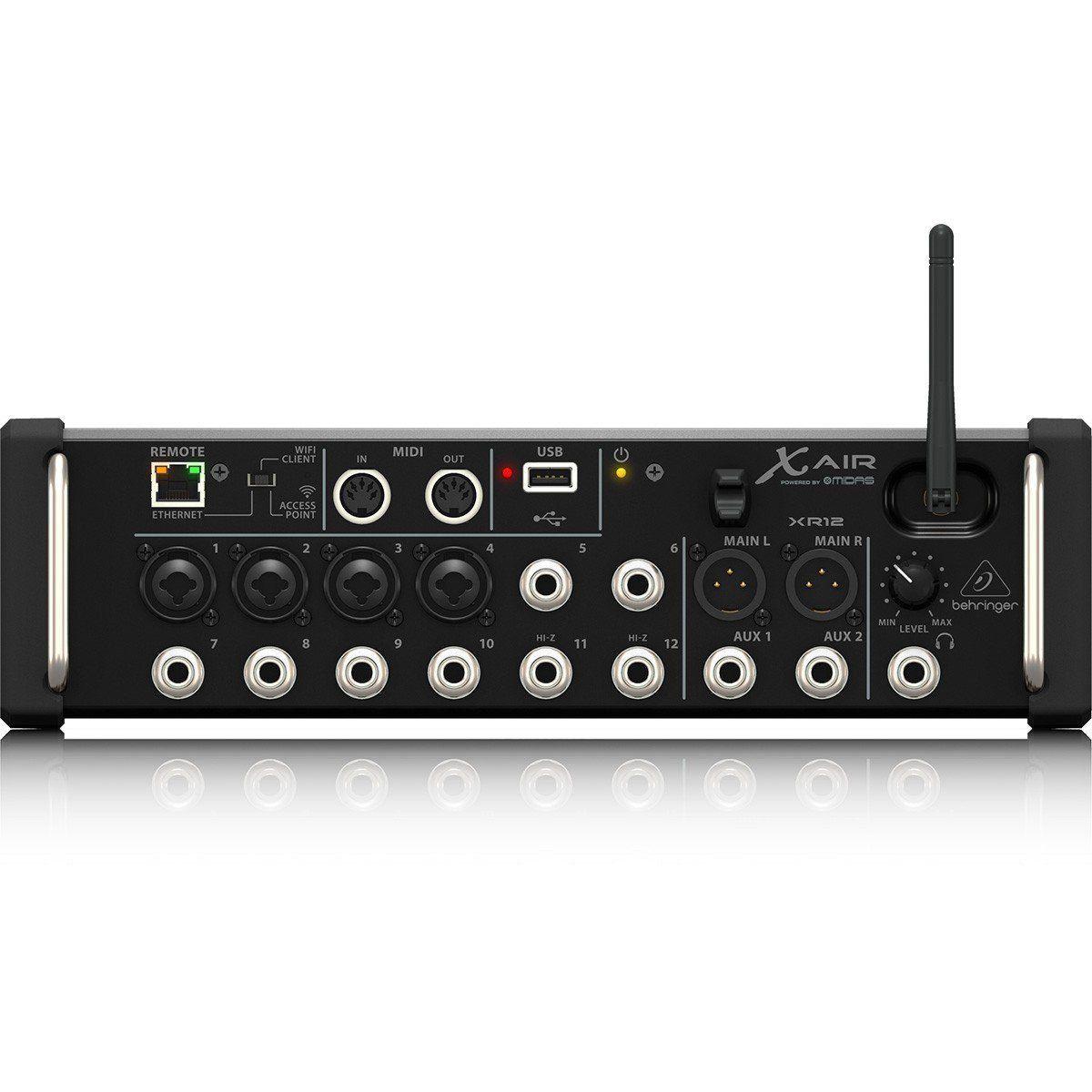 Mesa De Som Behringer Xr12 Digital 12 Canais Wi-fi