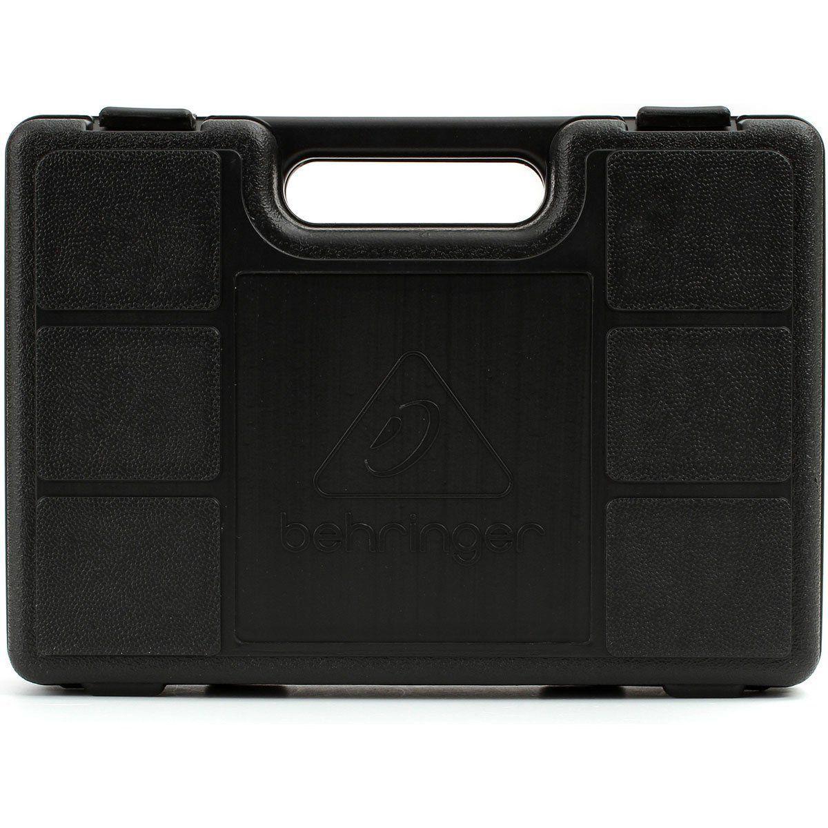 Kit 3 Microfone Behringer Xm1800s + Case Cachimbo