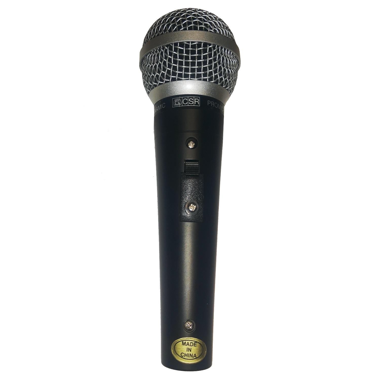 Microfone Dinâmico Com Fio Csr Pro 14L
