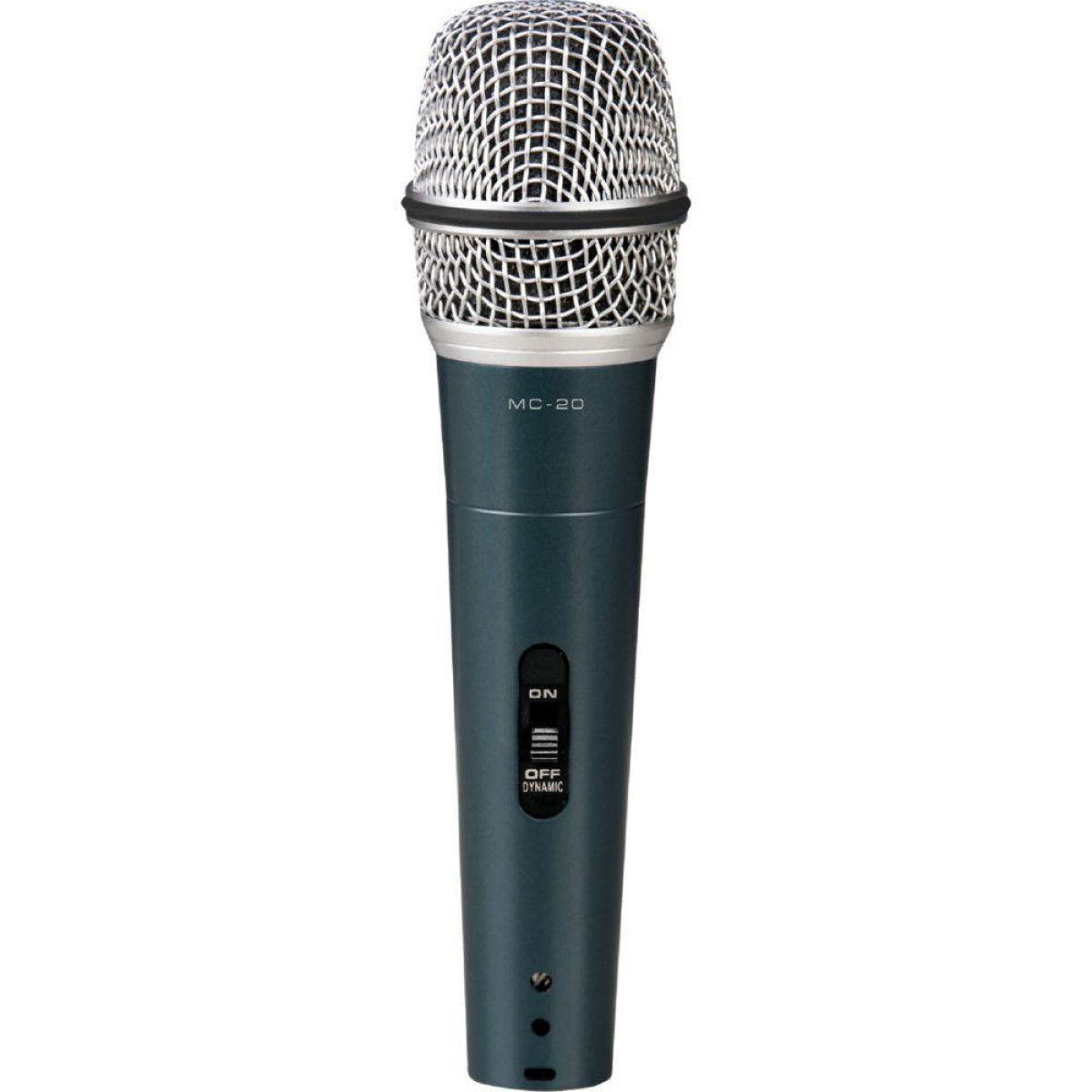 Microfone De Mão Com Fio Profissional Vokal Mc20