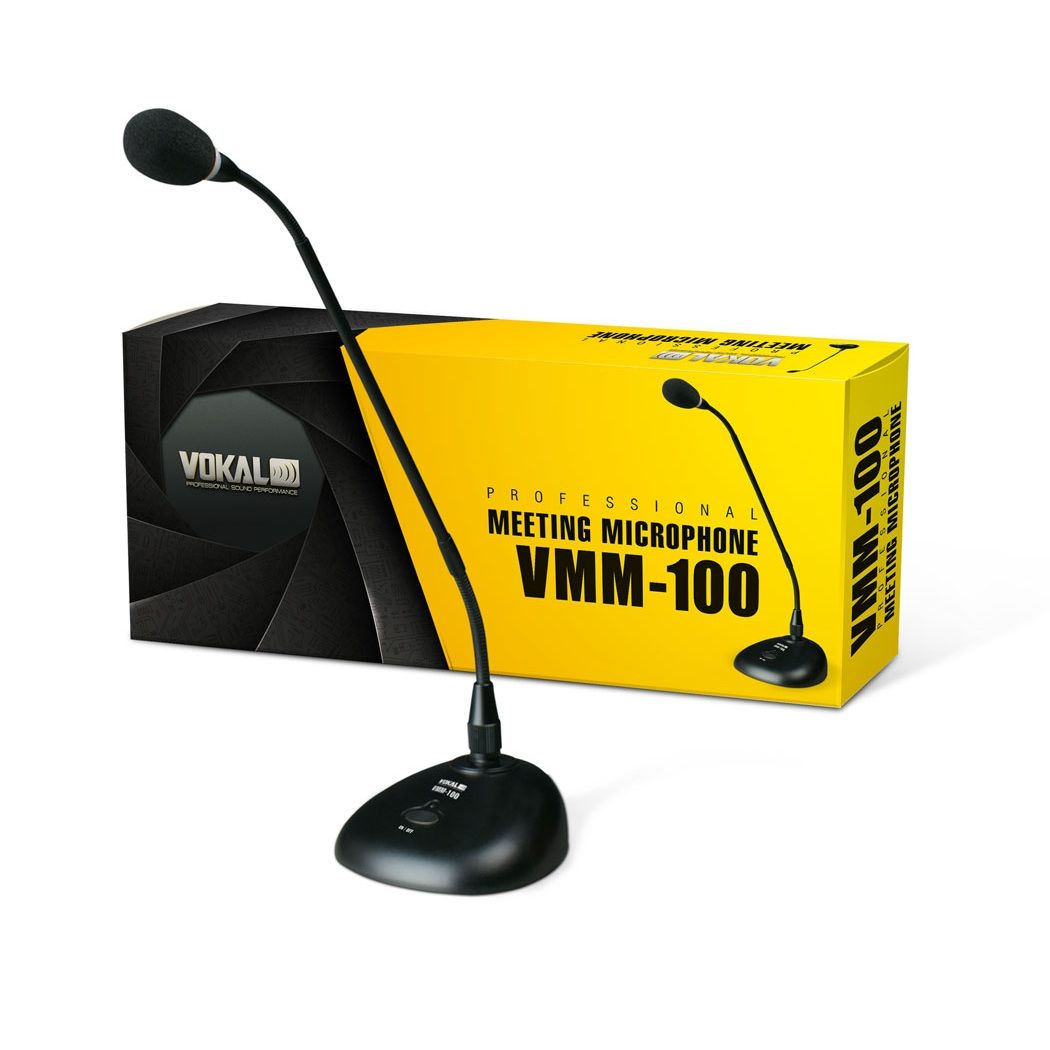 Microfone Vokal Vmm100 De Mesa