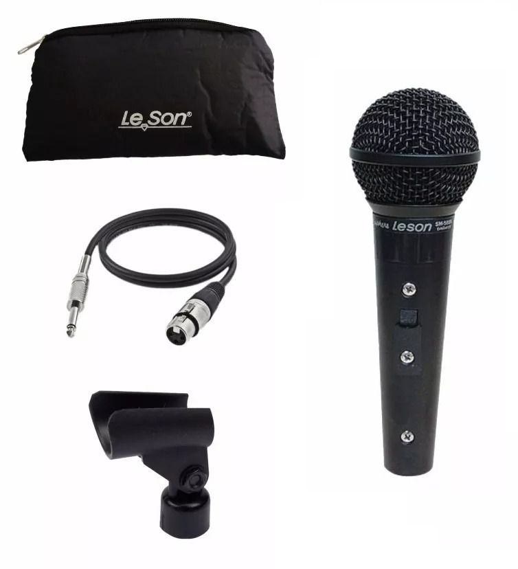 Microfone Leson Sm58-P4-Bk
